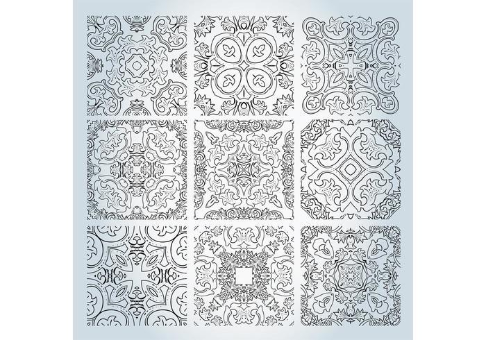 Outline Pattern Vectors