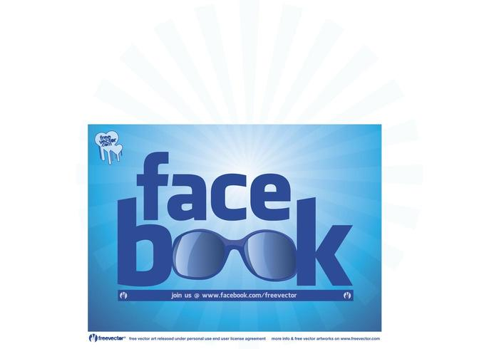 Cool facebook logo vektor