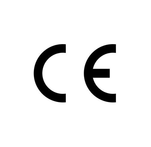 CE-Kennzeichnung vektor