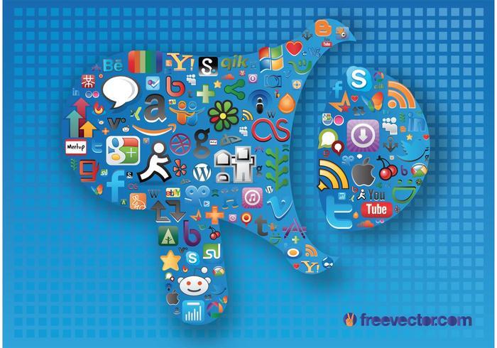 Graphiques de médias sociaux