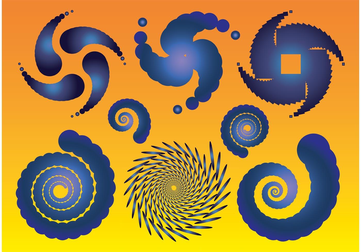 Spiral Vectors - Download Free Vector Art, Stock Graphics ...