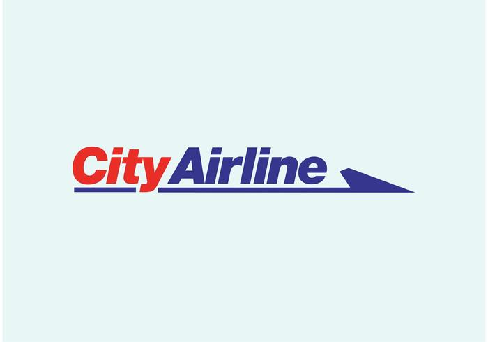 City Airline vector