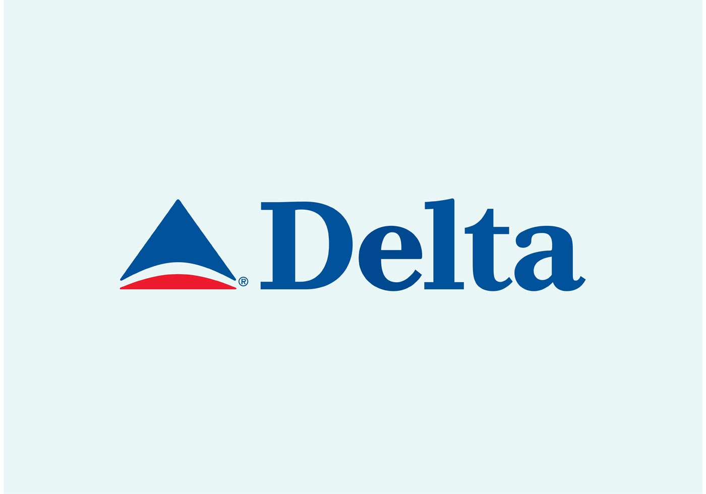 Delta Air Lines Vector Logo Download Free Vector Art