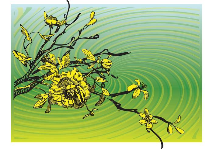 Blooming tree