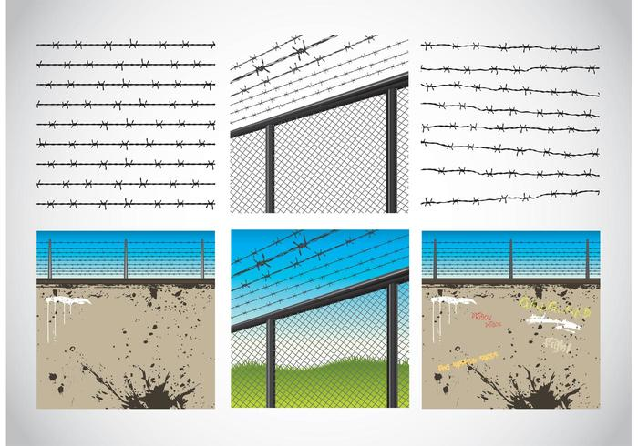 Barbed Wire Graphics
