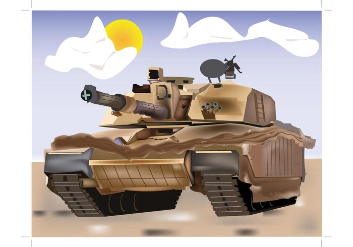 Tank Vector Illustration