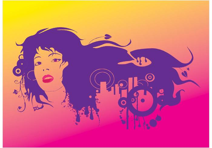 Urban Girl Vector