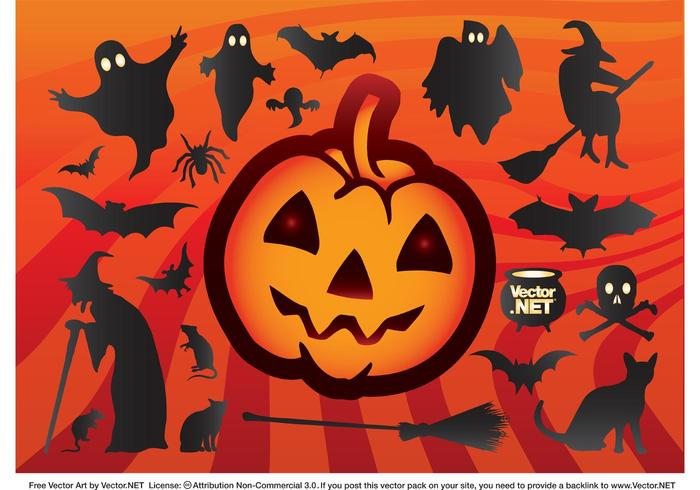 Cool Halloween Vectors