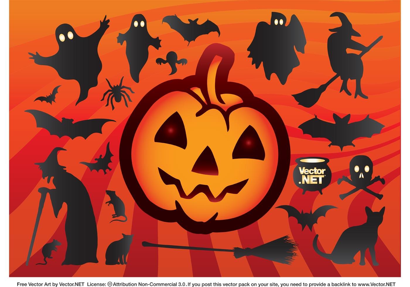 Cool Halloween Vectors - Download Free Vector Art, Stock ...