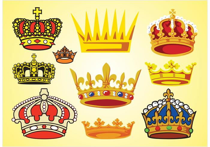 Crowns Vectors