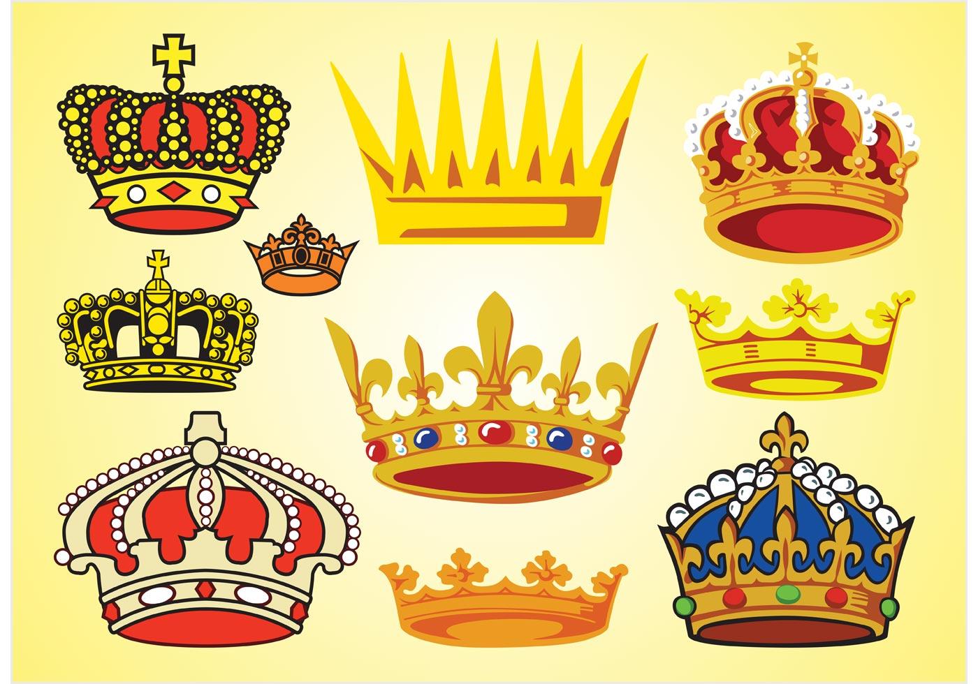 корона разноцветная картинки тоже срезайте