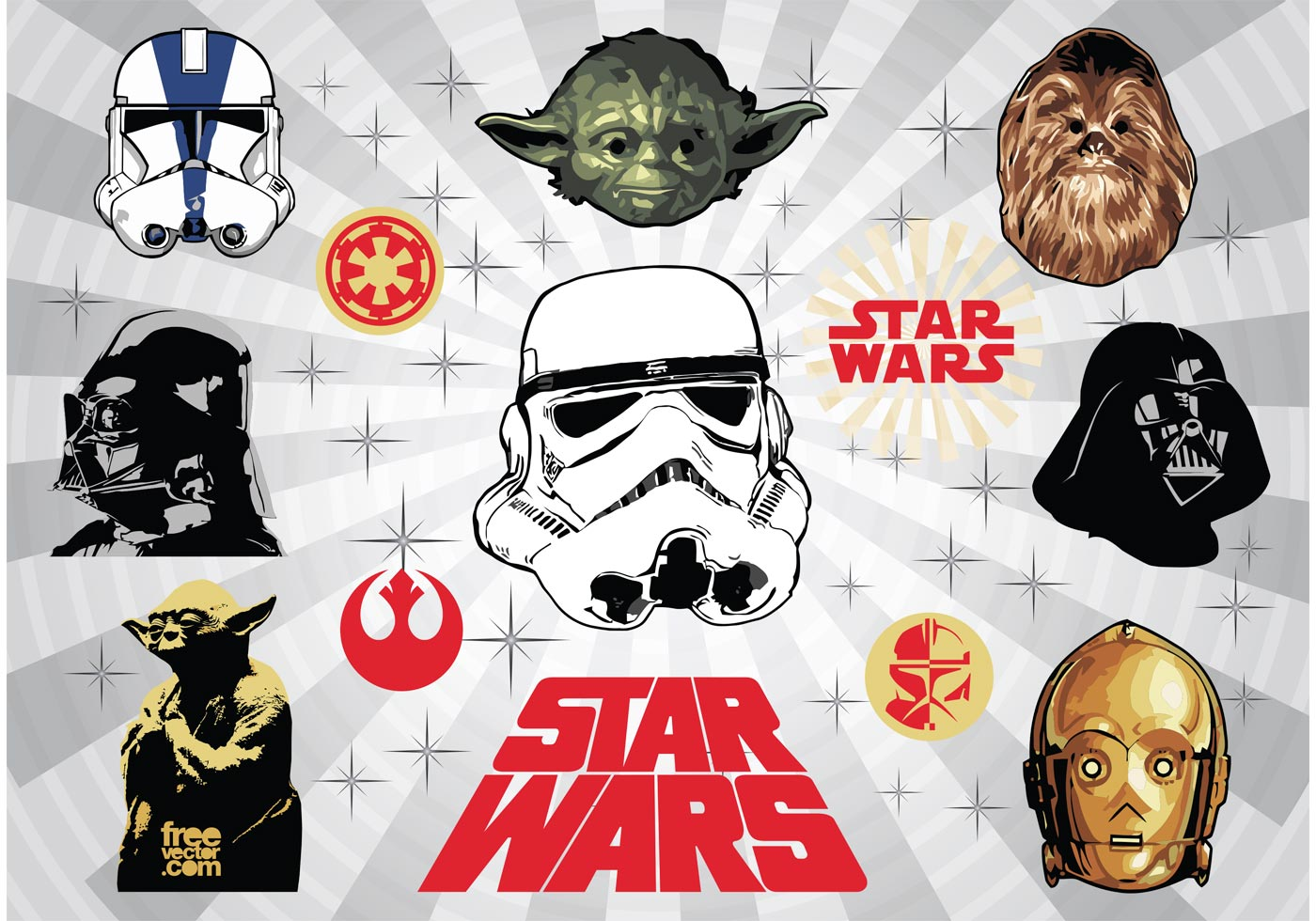 Star Wars Free Vector Art