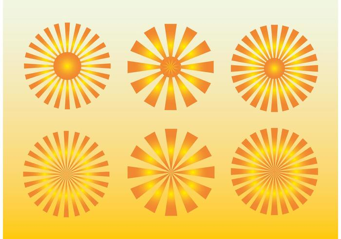 Sunburst Shapes