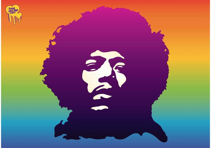 jimi hendrix - download free vector art, stock graphics & images