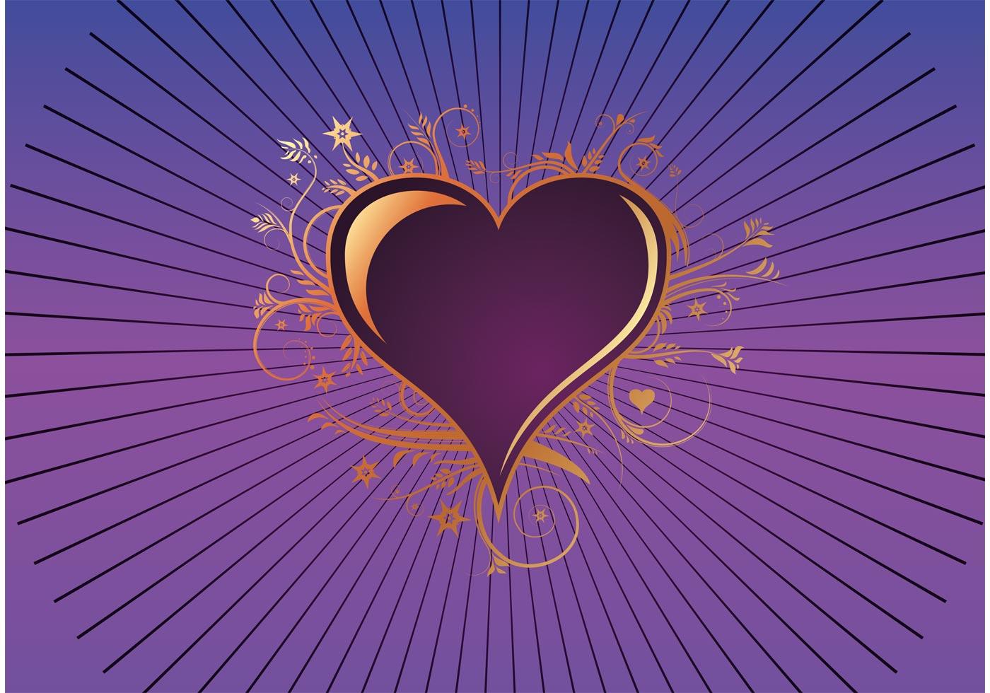 Purple Heart Download Free Vector Art Stock Graphics