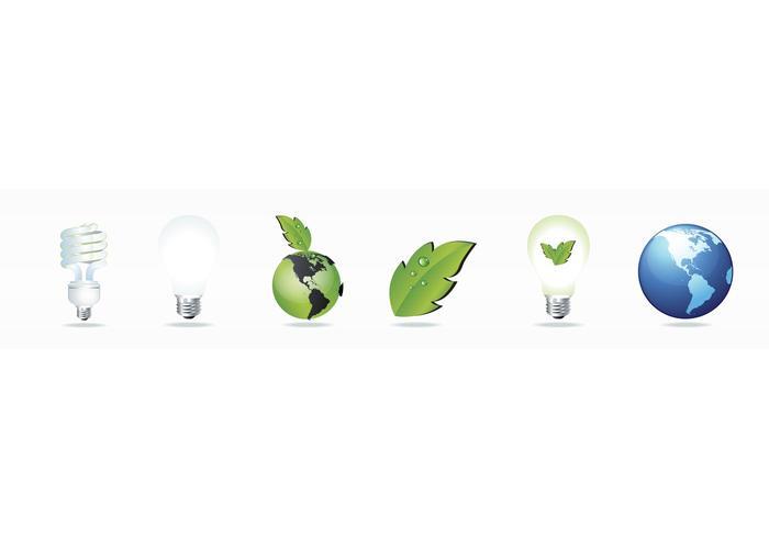 Ökologie Icon Vektoren