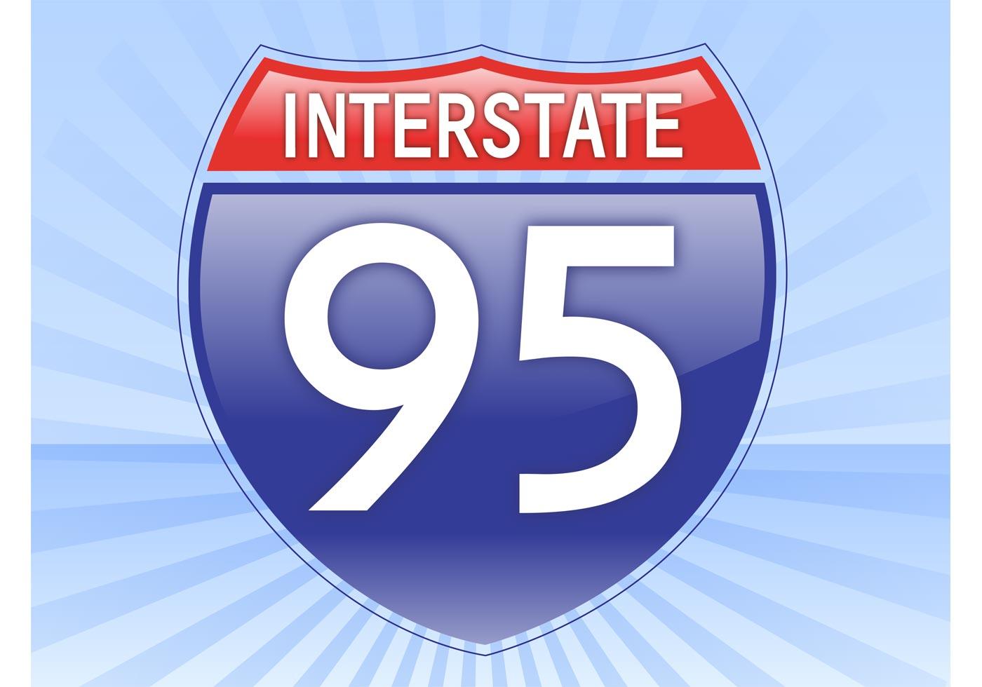 Interstate Sign Free Vector Art 13122 Free Downloads