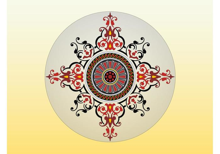 Circle Vector Decoration