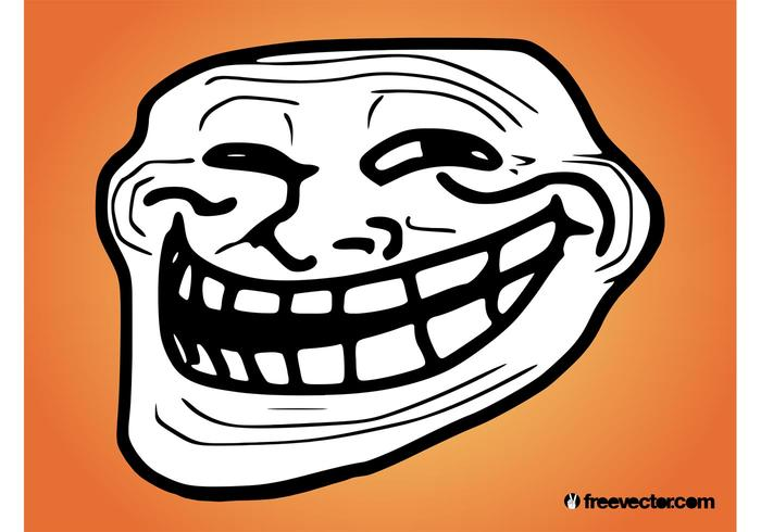 Troll Face Vector