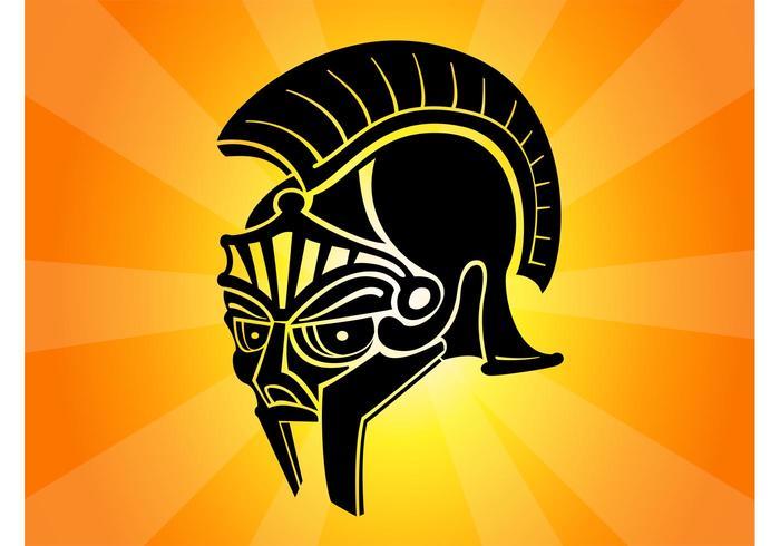 Roman Helmet Graphic