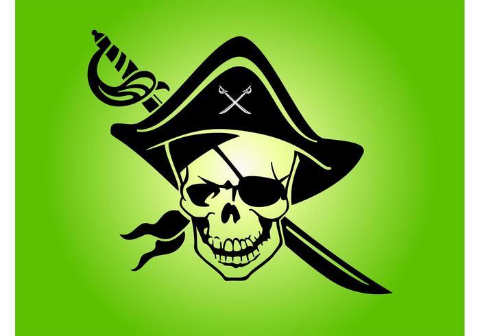 Pirate Skull Emblem