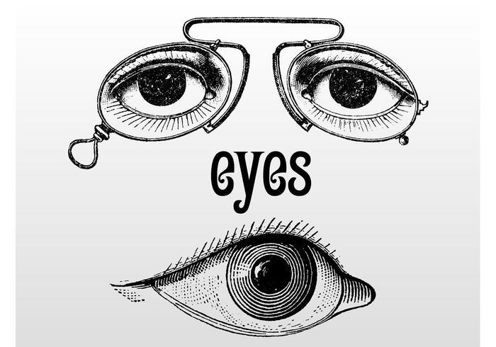 Vintage Eye Illustrations