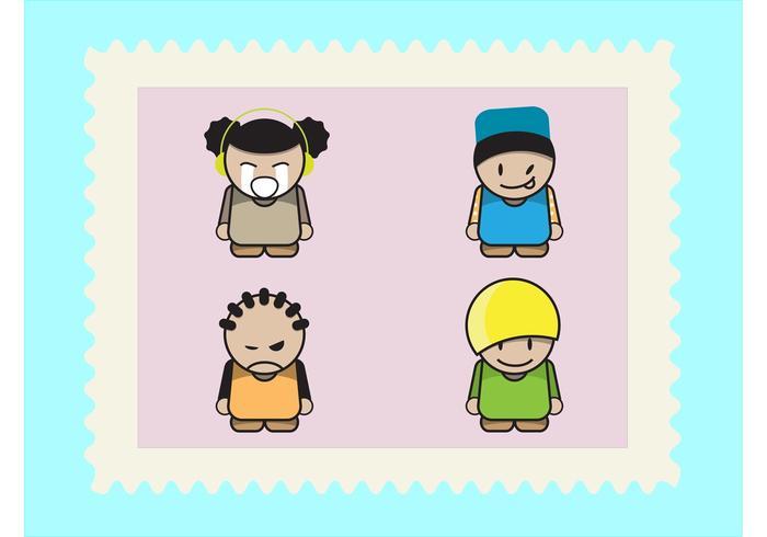 Cartoon Kids Pack