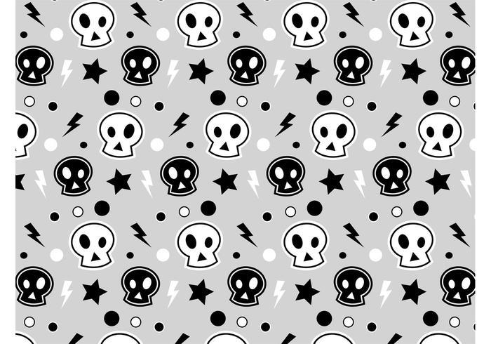 Punk Skull Pattern