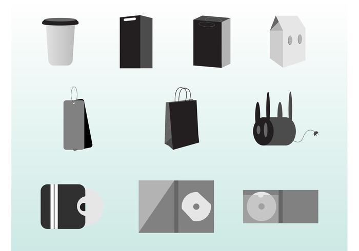 Packaging Vector Set