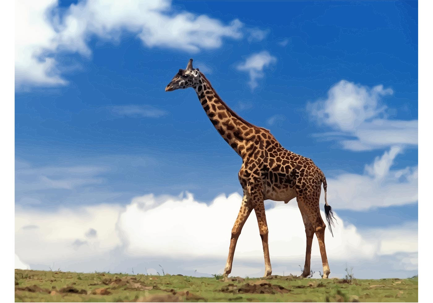 Exceptional image pertaining to printable giraffe