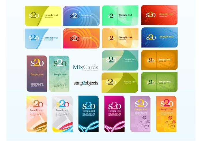 Business Card Mix Pack