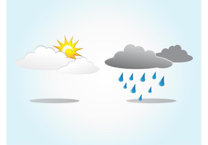 Sun Rain Clouds