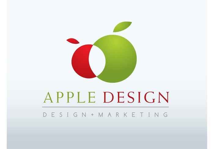 Conception de logo Apple