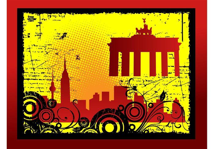 Grunge City Card
