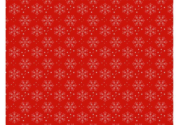 Christmas Snow Pattern