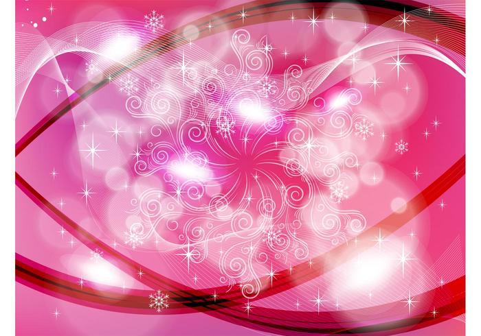 Pink Swirls Backdrop