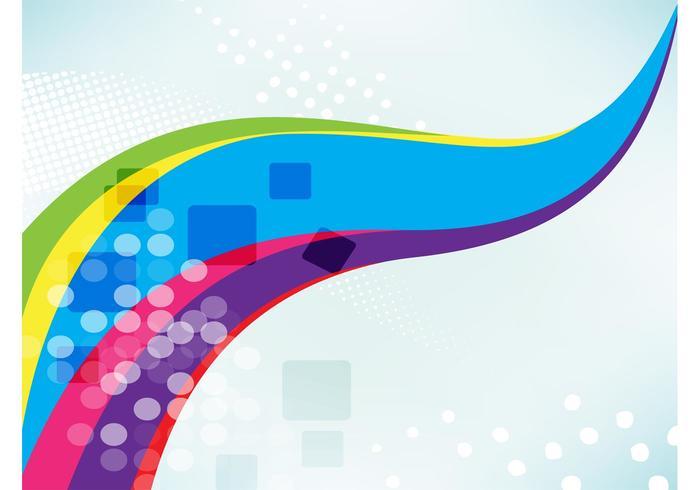 Rainbow Swoosh Backdrop