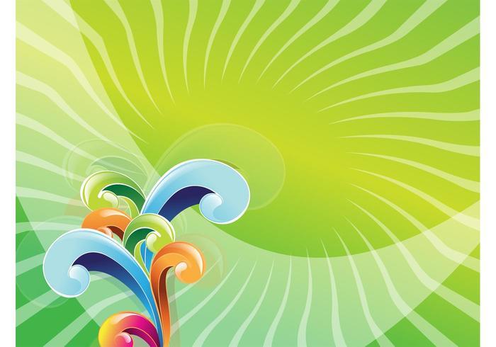 Colorful Swirls Design
