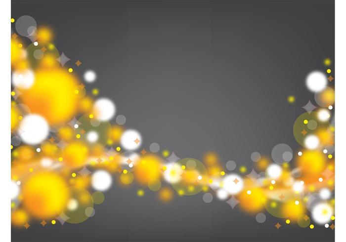 Golden Spheres Backdrop