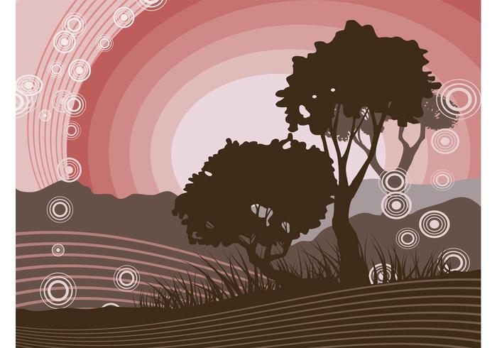 Vector Nature Scene