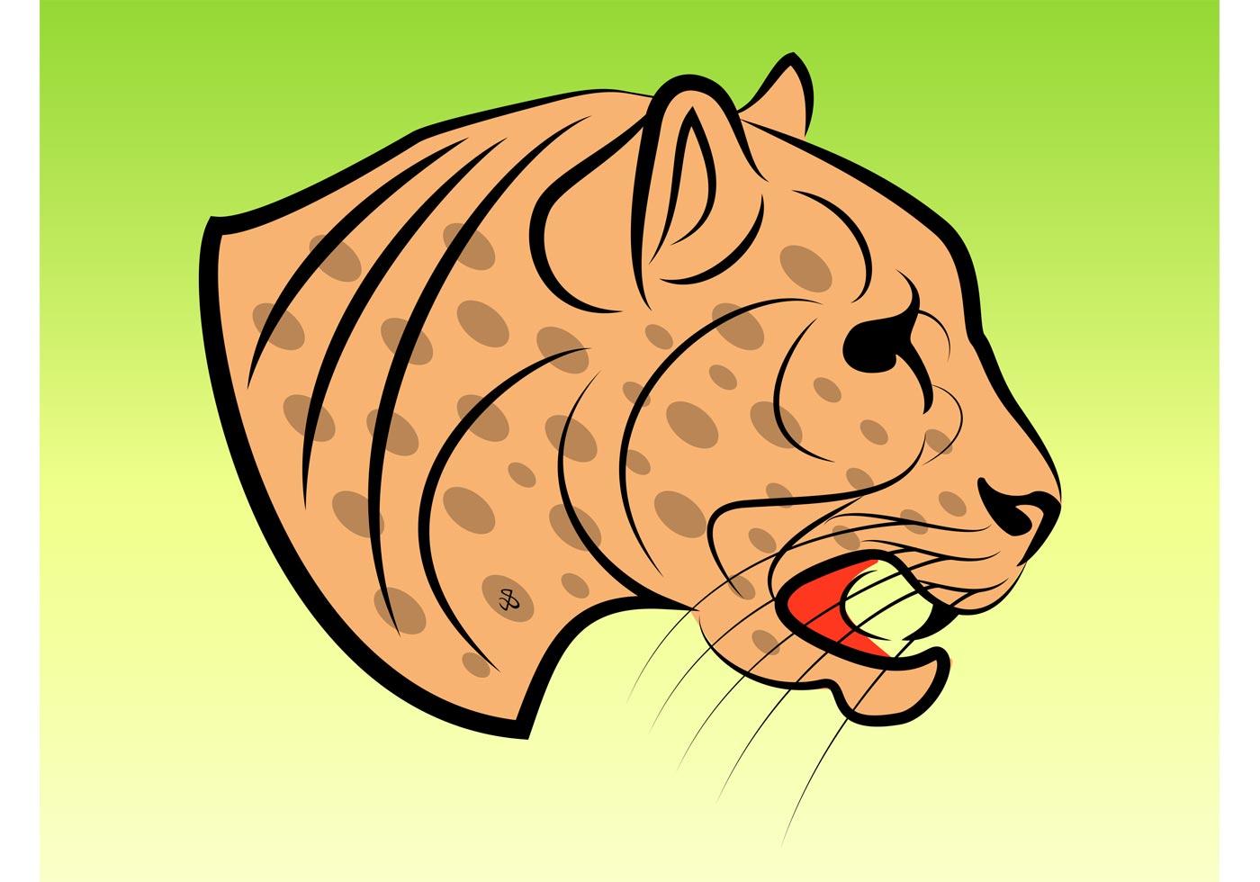 Jaguar Vector Clip Art - Download Free Vector Art, Stock ...