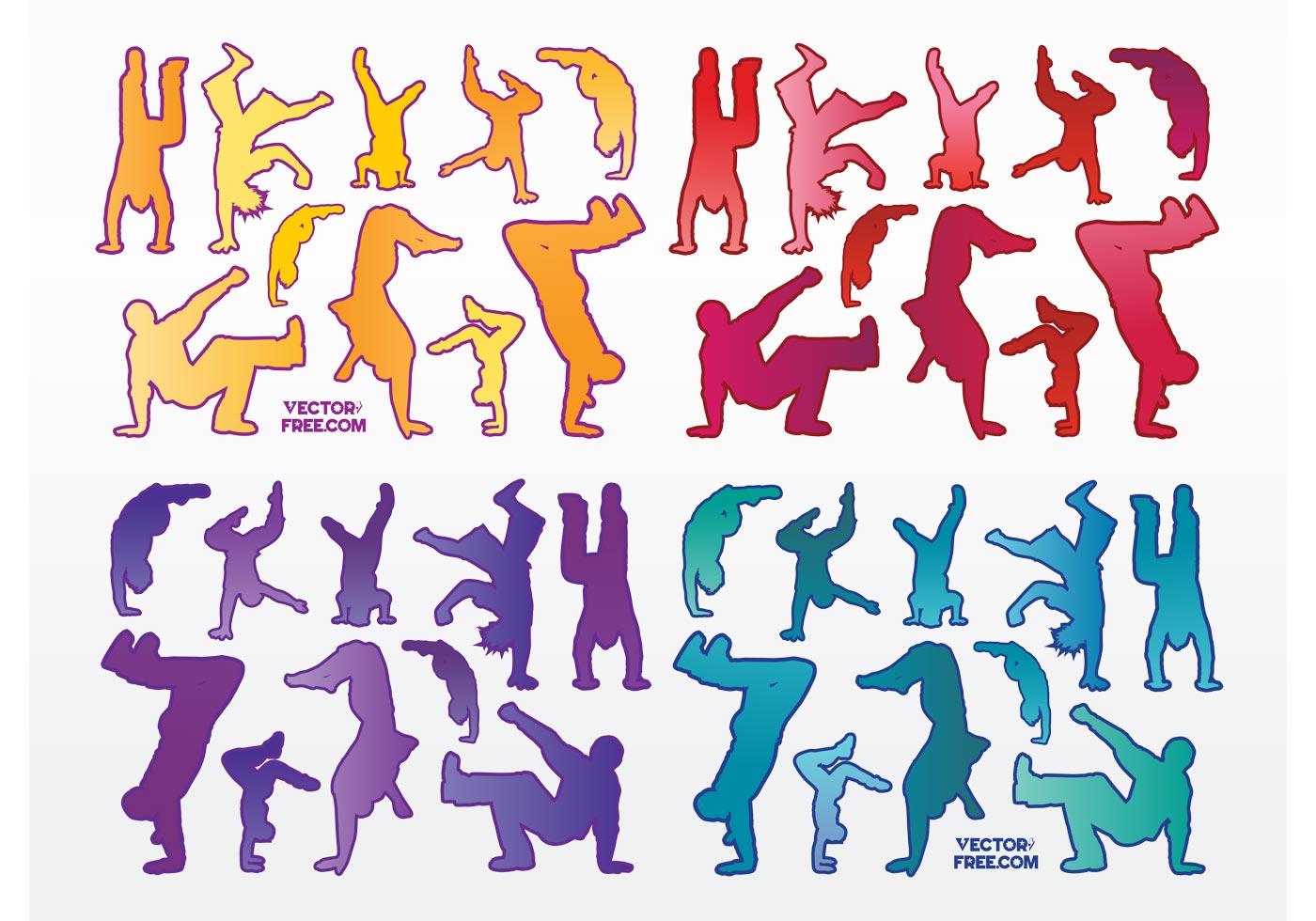 Urban Dancers Download Free Vector Art Stock Graphics