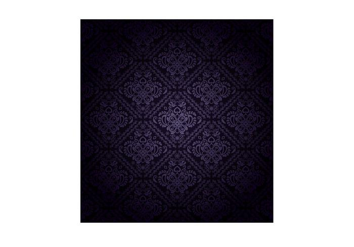 Dark Purple Pattern Vector