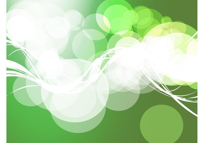 Green Circles Background