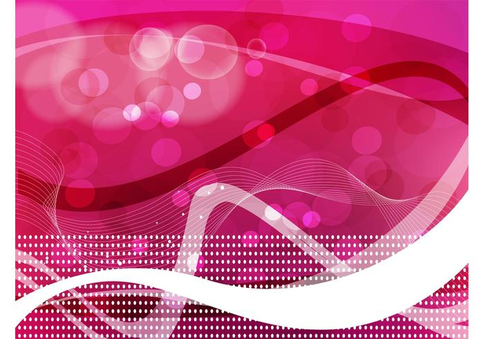 Pink Abstract Background Image