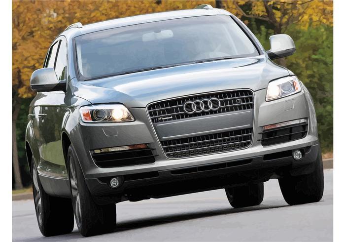 Papel de Parede Audi Q7