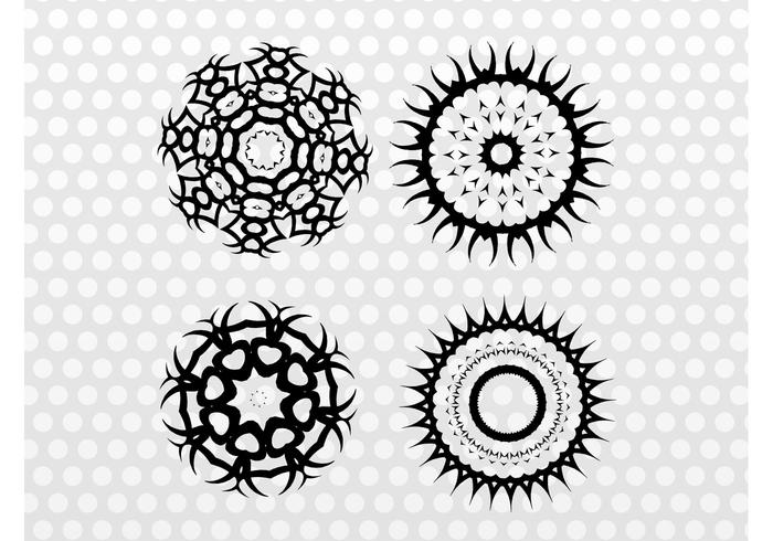 Round Tribal Graphics