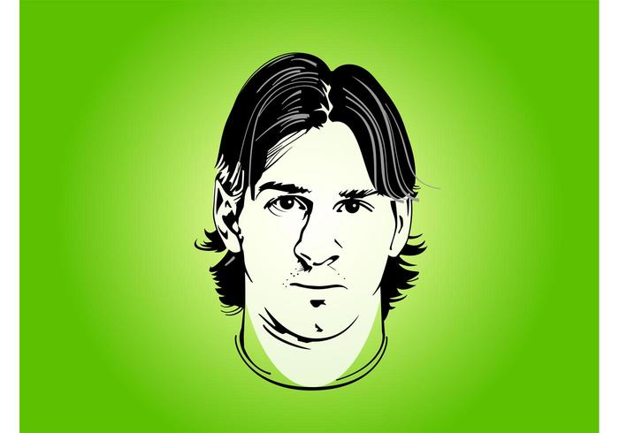 Lionel Messi Portrait