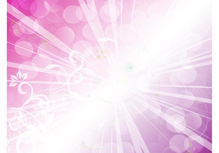 Purple Light Burst