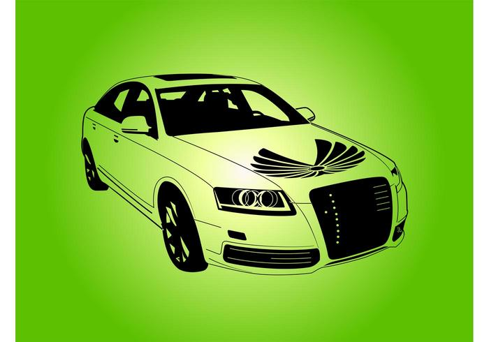 Audi Car Vector Download Free Vector Art Stock Graphics Images